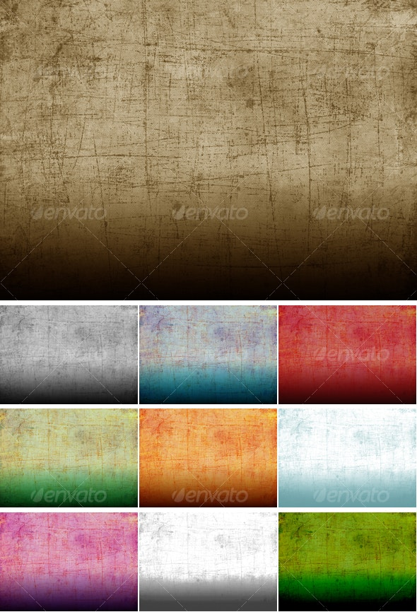 Grunge Fabric Texture in 10 colours - Fabric Textures