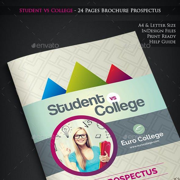 Student vs College - Prospectus
