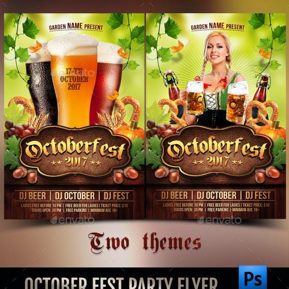 Octoberfest Party Flyer