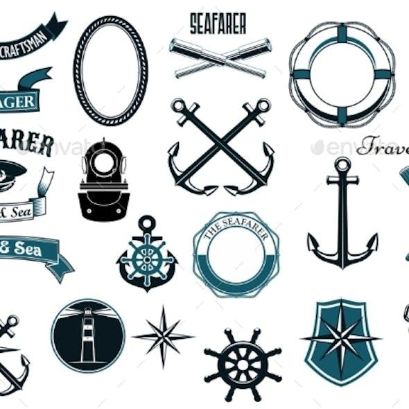 Nautical and Marine Heraldic Elements