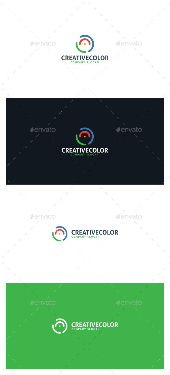 Creative Color Logo - Symbols Logo Templates