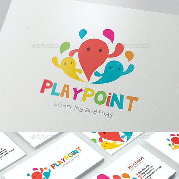 Kids Logo - Play Point