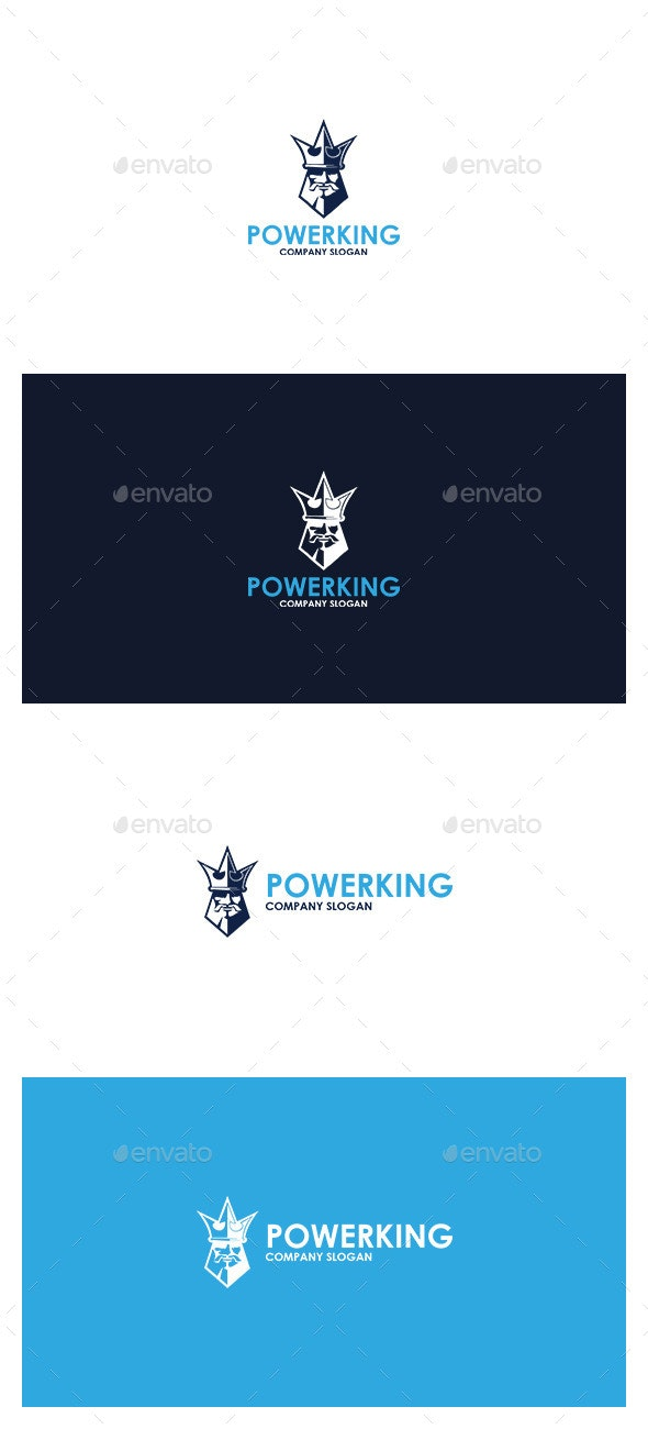 Power King  Logo - Symbols Logo Templates