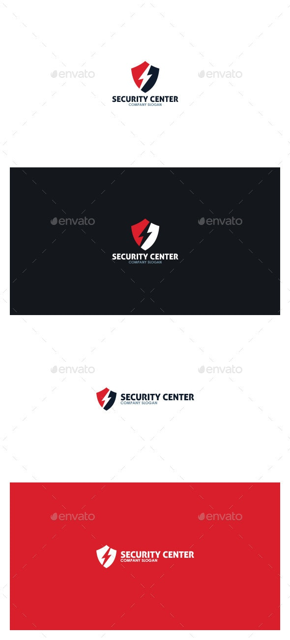 Security Center Logo - Symbols Logo Templates