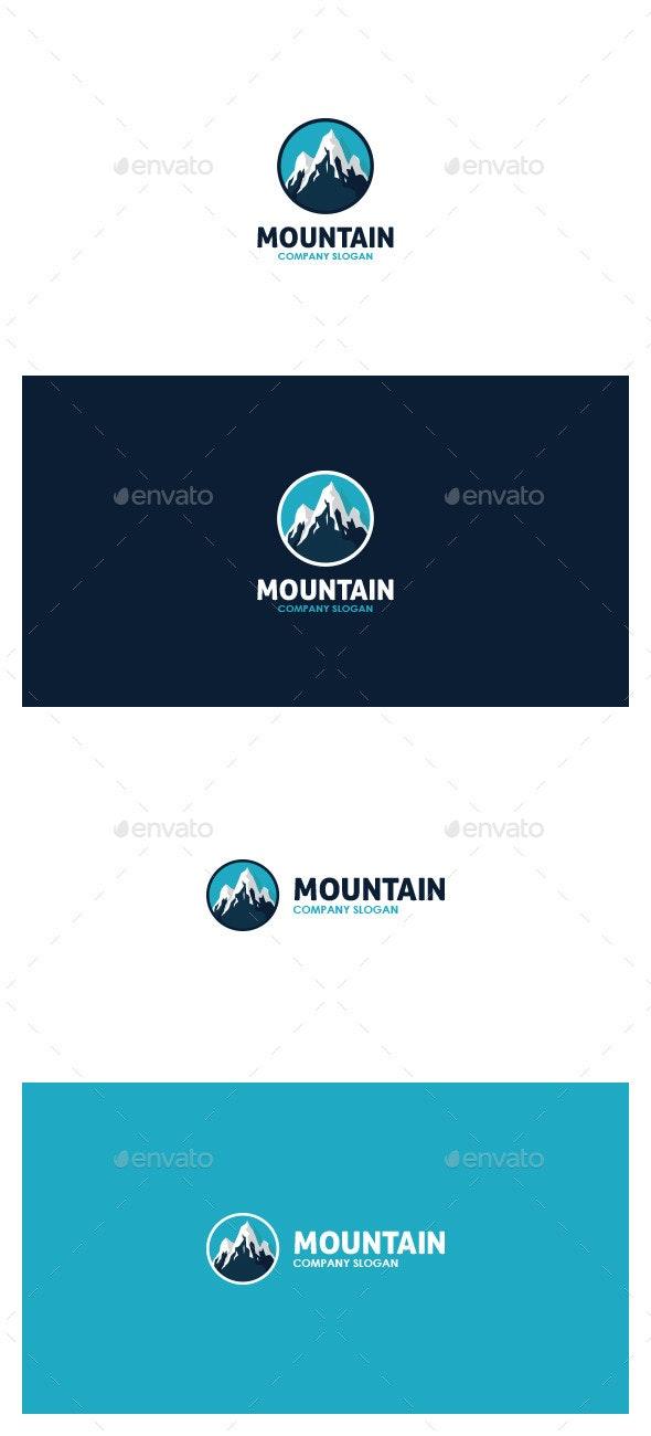 Mountain Logo - Symbols Logo Templates