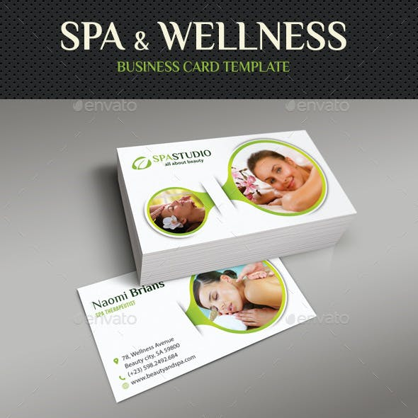 Spa And Beauty Business Card 06