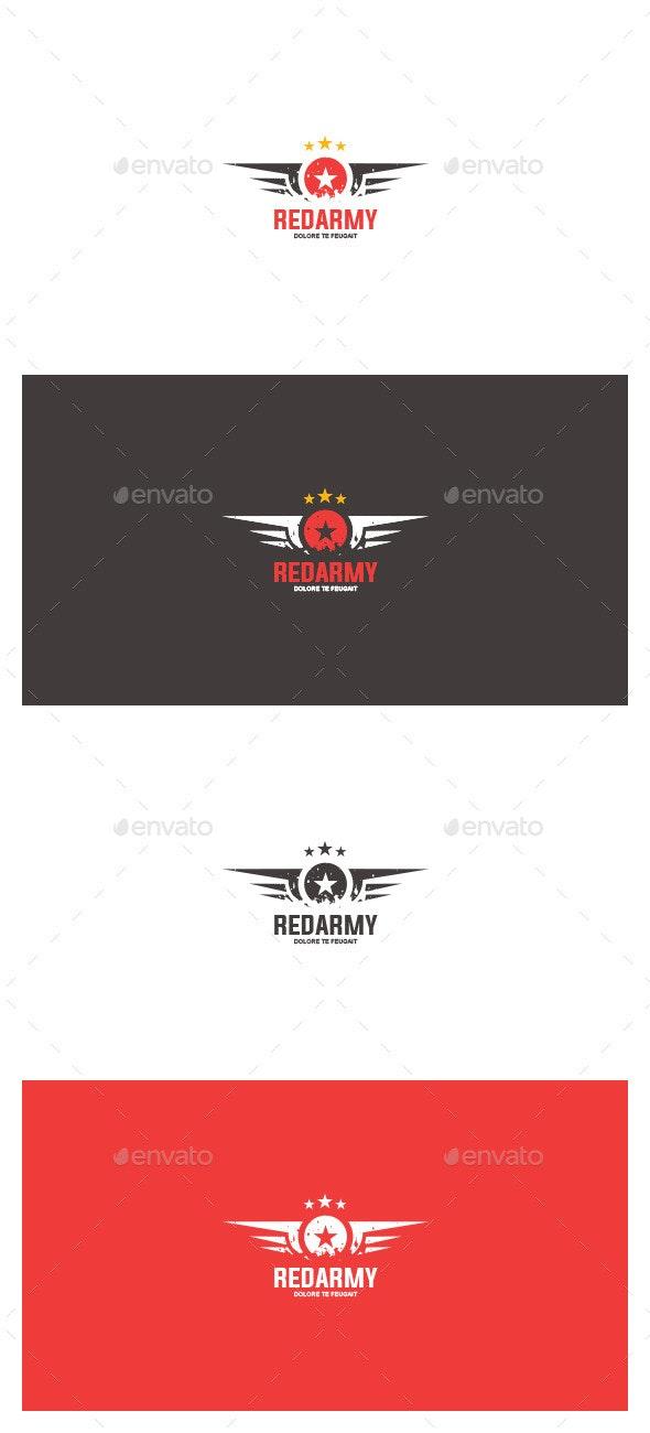 Red Army Logo Template - Symbols Logo Templates