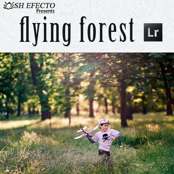 Flying Forest Lightroom Preset