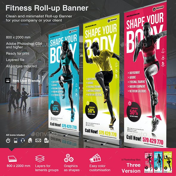 Fitness Roll-up