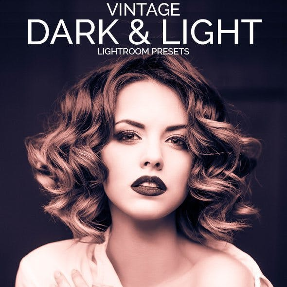 Vintage Dark & Light Lightroom Presets