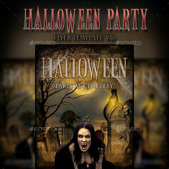 Halloween Flyer Template V10