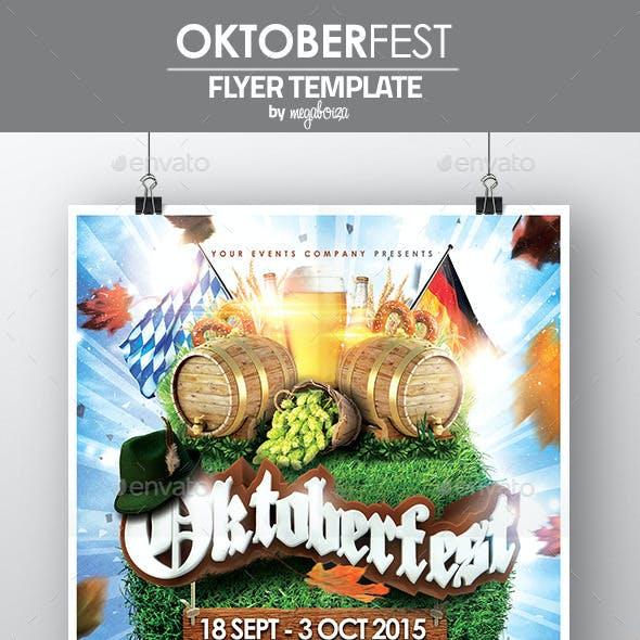 Oktoberfest Flyer / Poster Template