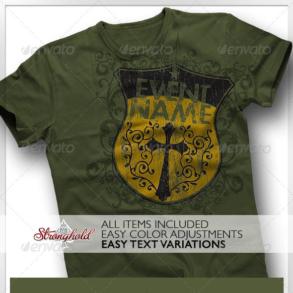 Strong Shield T-Shirt