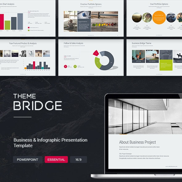 Bridge Theme - Business - Creative PowerPoint Templates