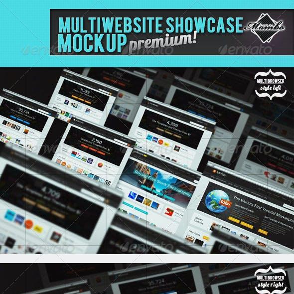 MultiWebsite Showcase MockUp