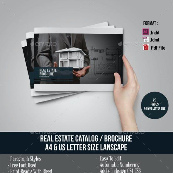 Real Estate Brochure/Catalog