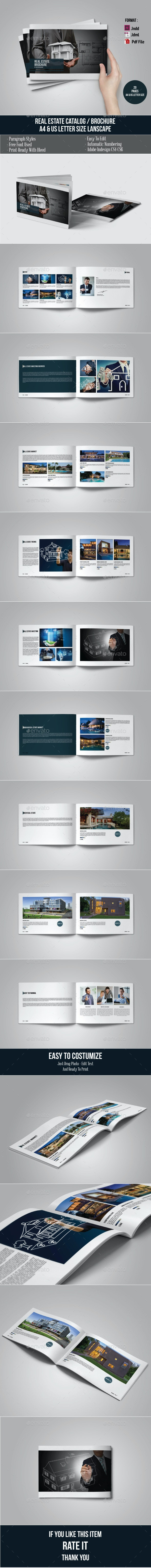 Real Estate Brochure/Catalog - Catalogs Brochures