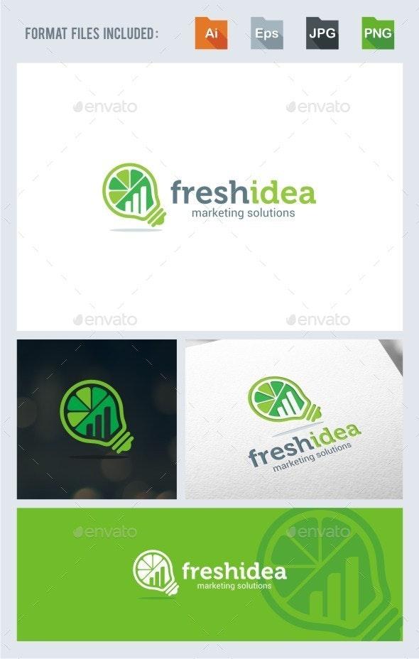 Fresh Idea Marketing - Logo Template - Symbols Logo Templates