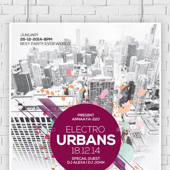 City Concert - Flyer / Poster