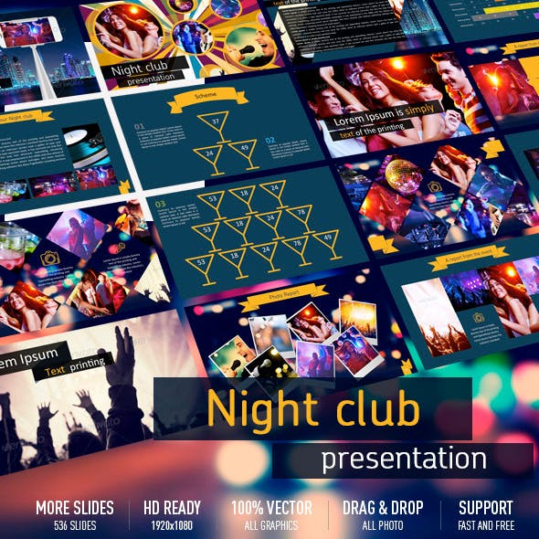 Night club presentation