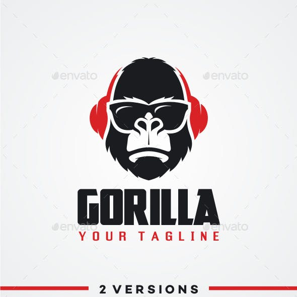DJ Gorilla Logo