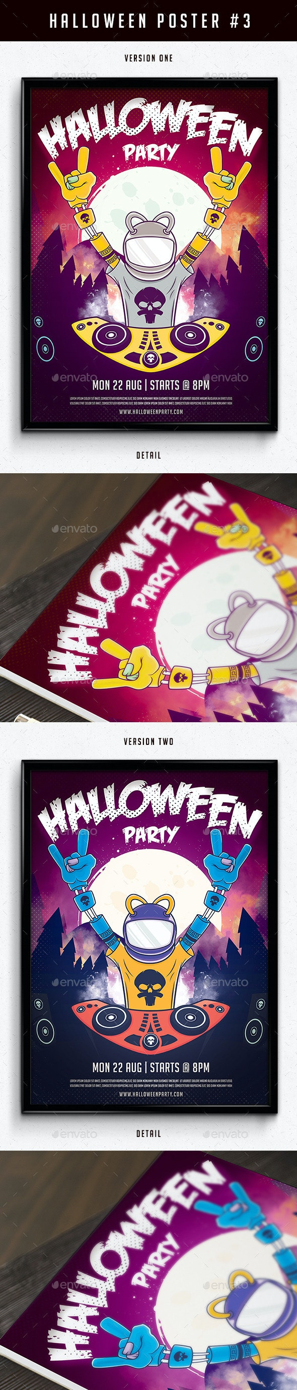 Halloween Poster 3 - Print Templates