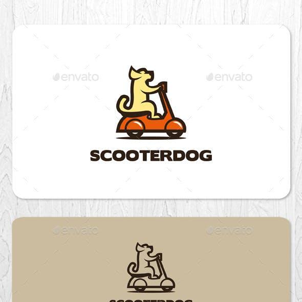 Scooter Dog Logo