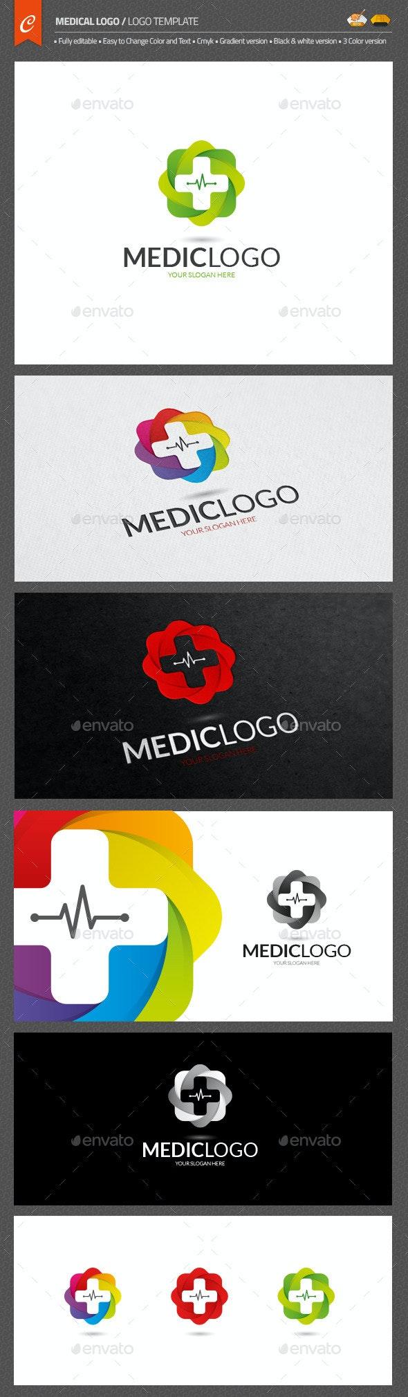 Medical Logo - Objects Logo Templates