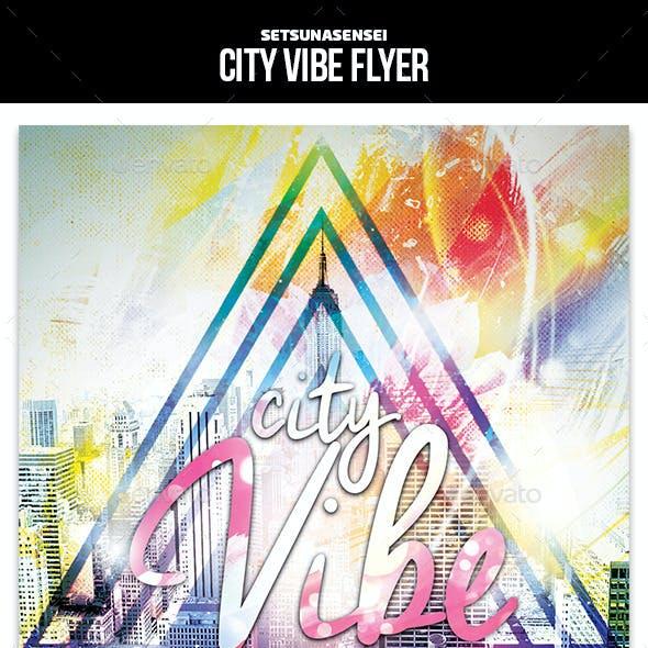 City Vibe Flyer