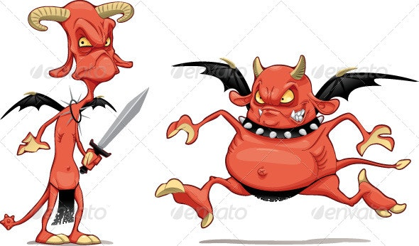 Demons - Monsters Characters