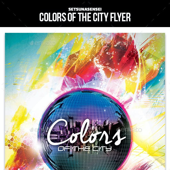 Colors of the City Flyer