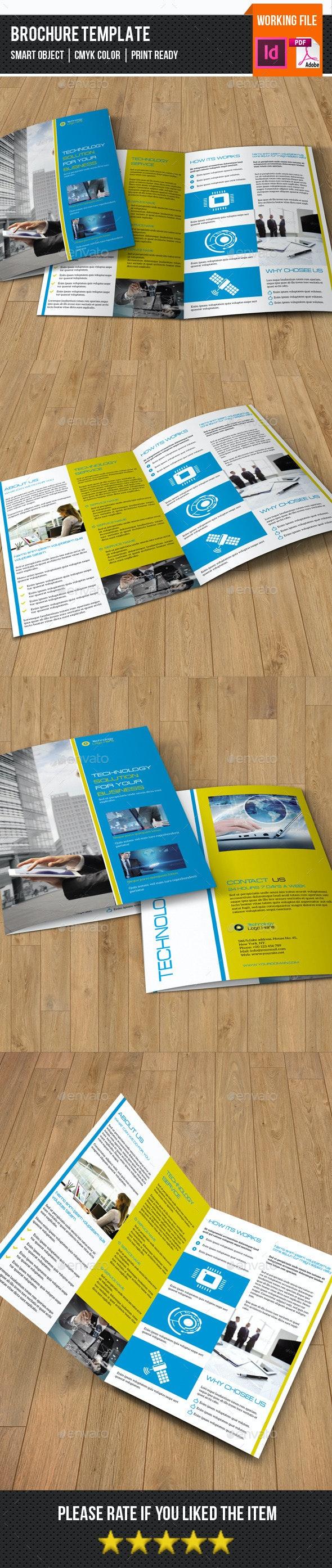 4 Page Technology Brochure-V296 - Corporate Brochures