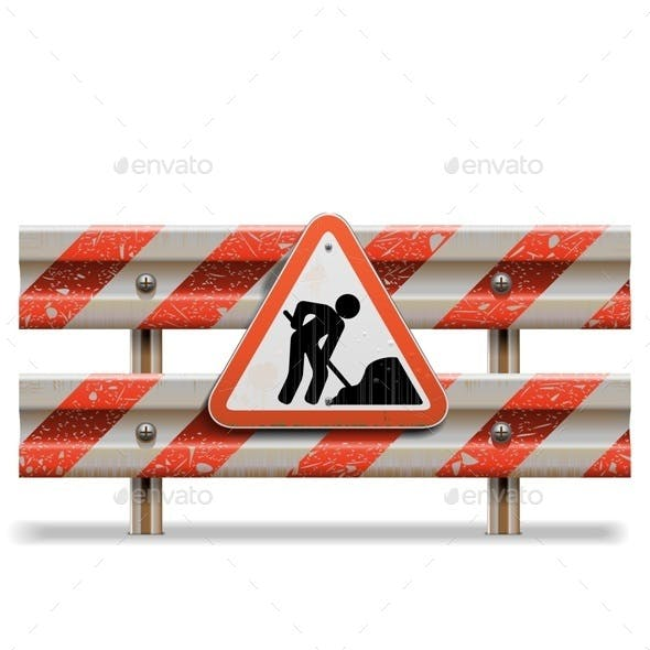 Vector Old Barrier with Sign