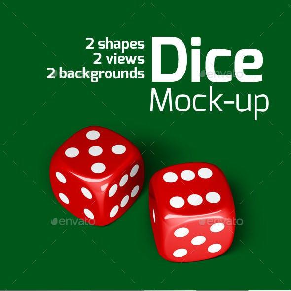 Dice Mock-up
