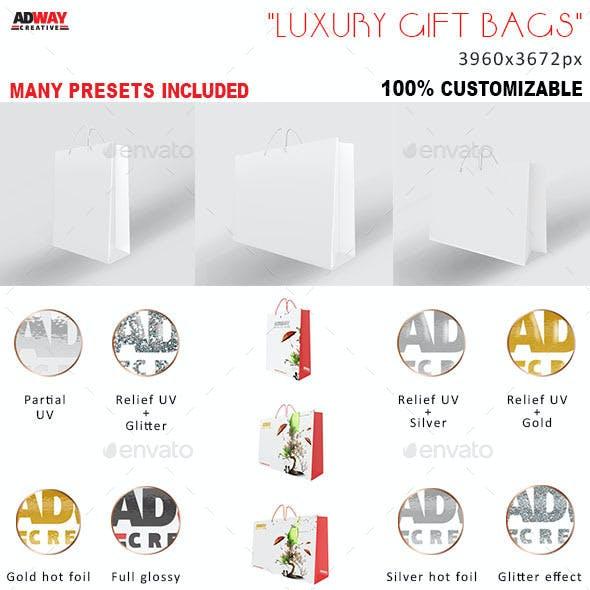 Luxury Shopping Bags