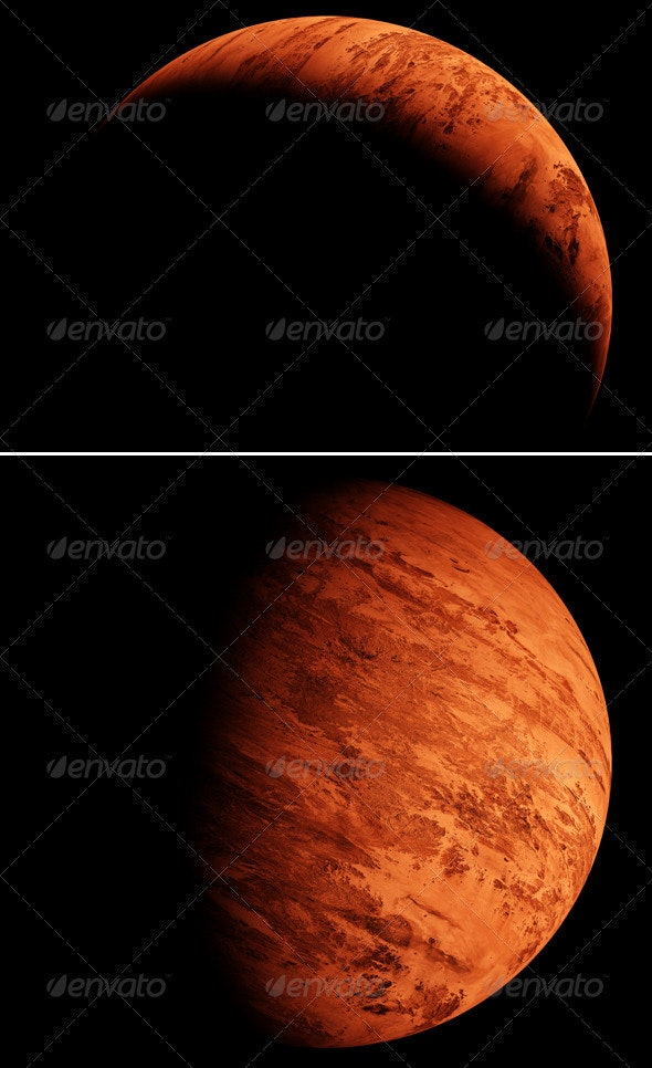 Red Planet - Miscellaneous 3D Renders