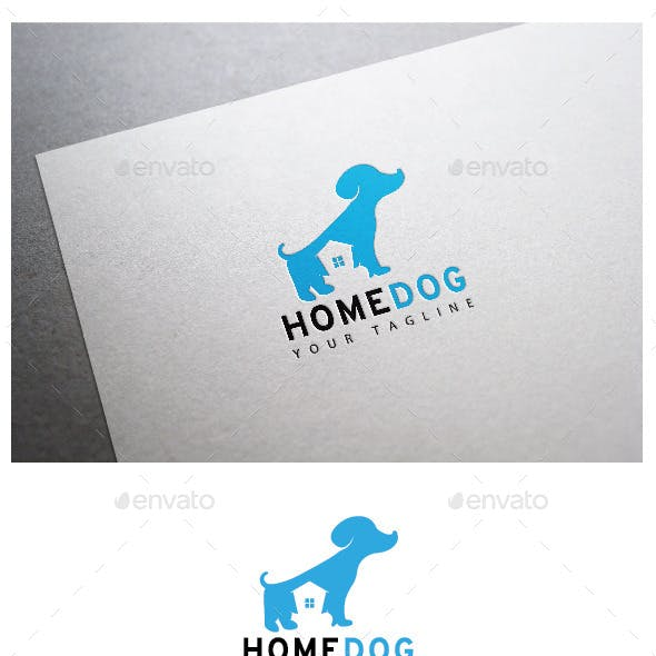 Home Dog Logo