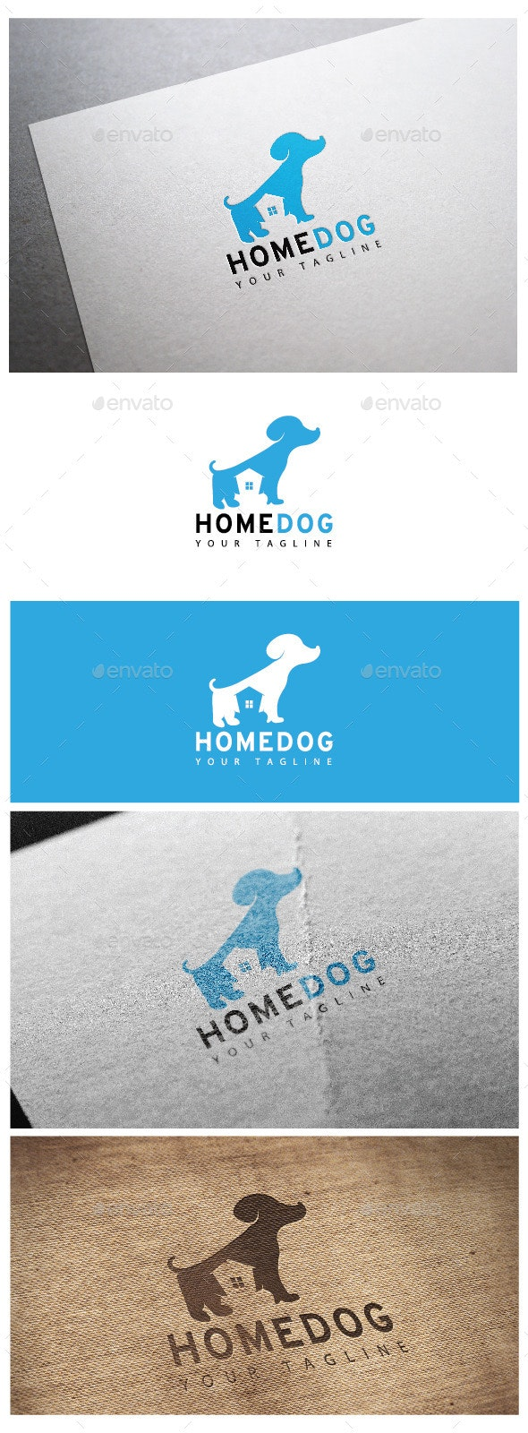 Home Dog Logo - Logo Templates