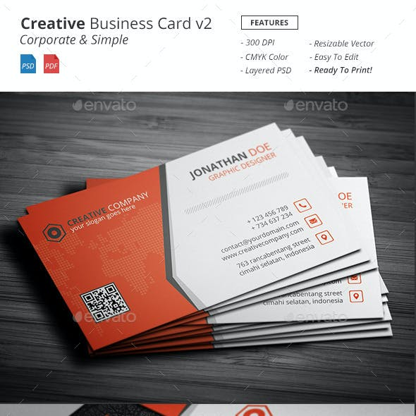 Creative - Bussiness Card v2