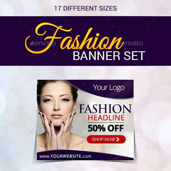 Fashion Banner Set