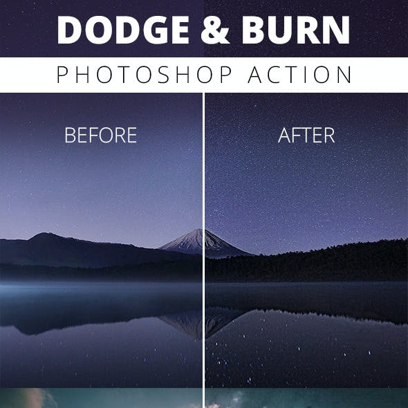 Dodge And Burn - Photoshop Action
