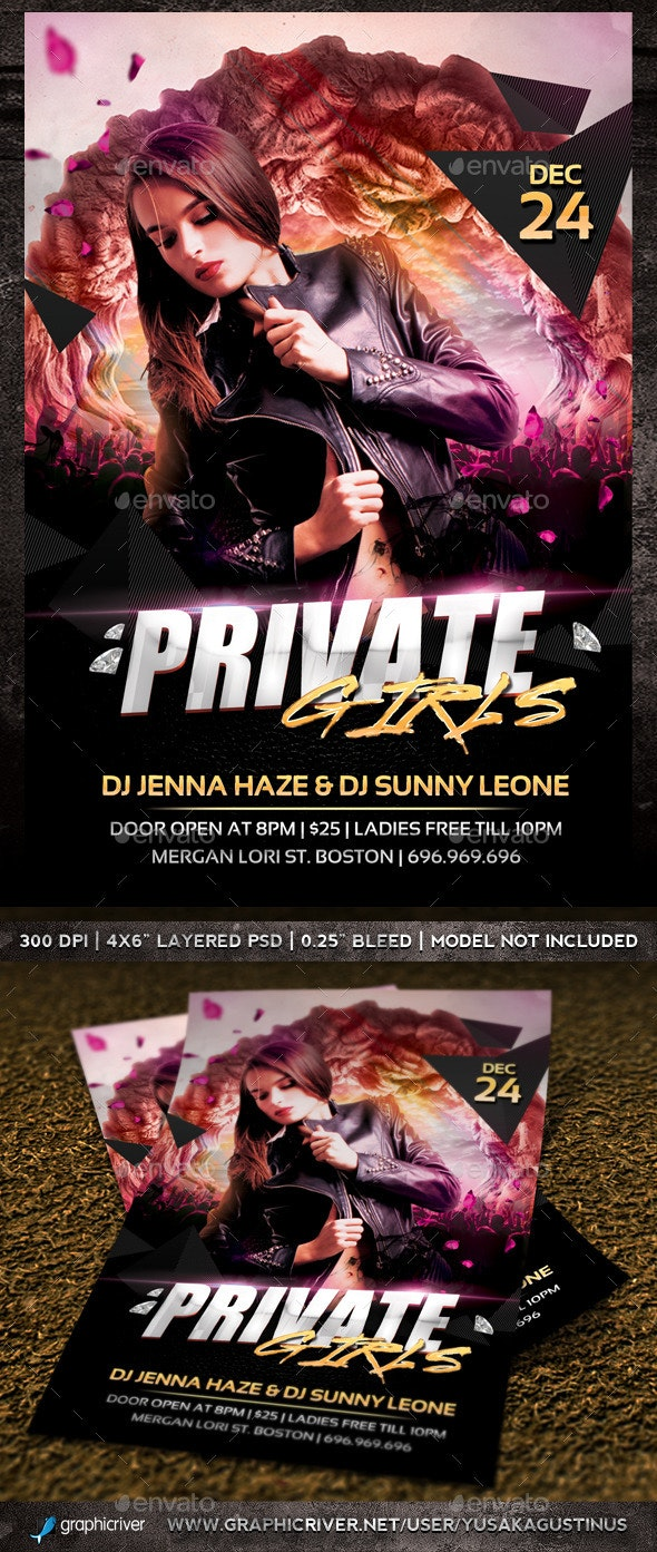Private Girls - Clubs & Parties Events