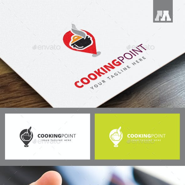 Cooking Point Logo Template