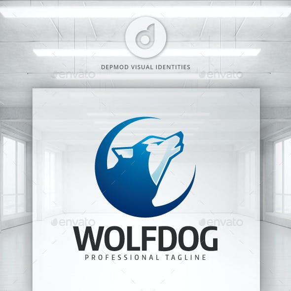 Wolf Dog Logo