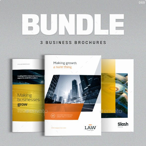 Brochure Bundle - Templates for Indesign