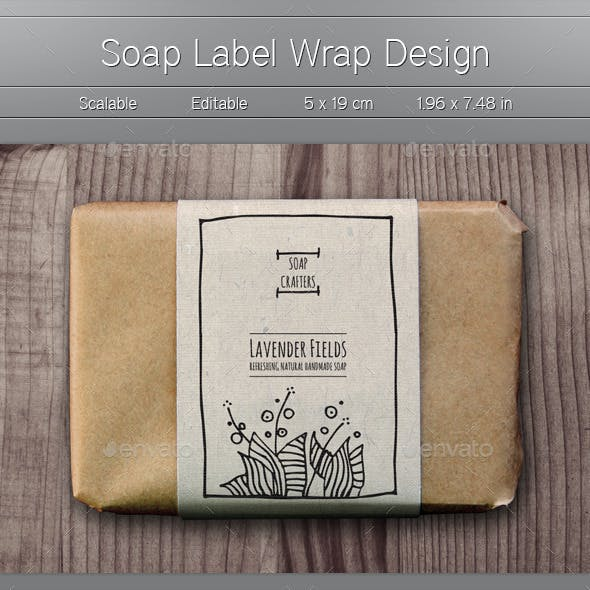 Soap Wrap Labels