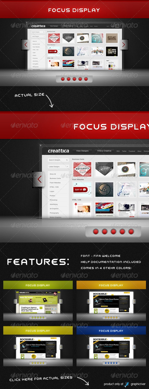 Focus Display - Miscellaneous Web Elements