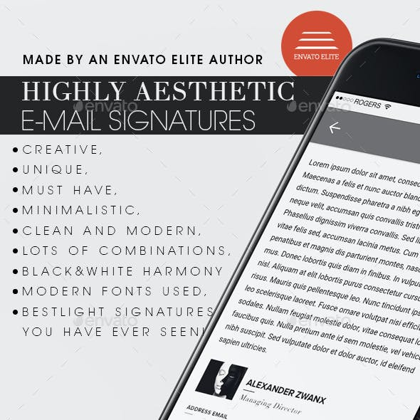 Creative Signatures Template