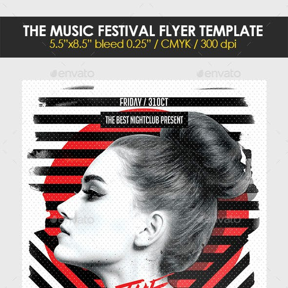 The Music Festival Flyer Template