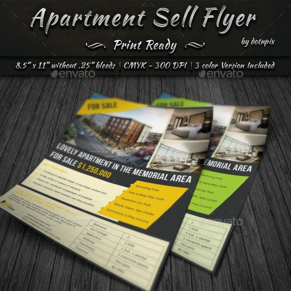 Apartment Sell Flyer